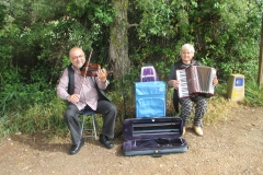 8. Buskers where luquin and Villamajor routes join